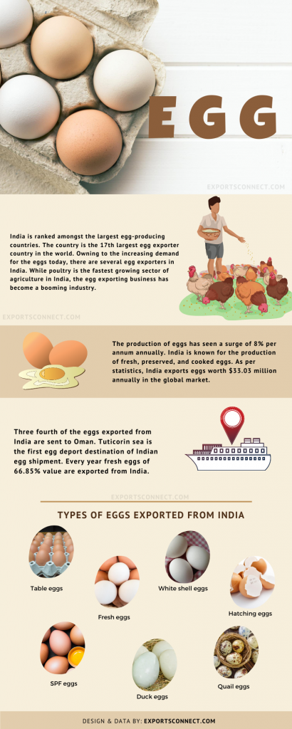 Exporters of Eggs India