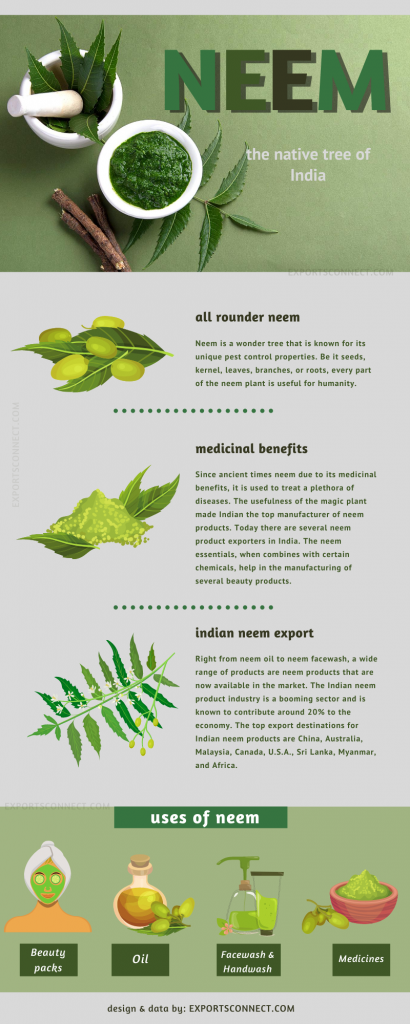 Exporters of Neem Products India