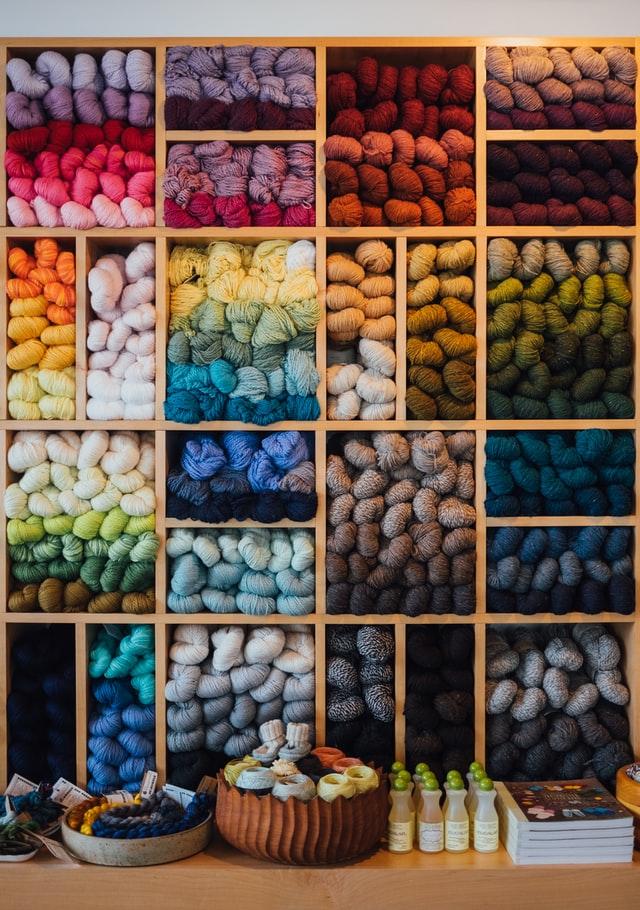 Colour textile